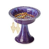 Tall Pedestal Jewelry Dish