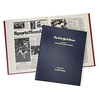 New York Times Custom Sports Book