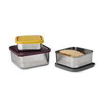 Leak-Proof Nesting Container Set