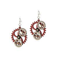 Kinetic Gear Earrings