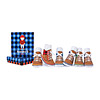 Lumberjack Socks - Set of 6