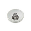 Porcelain Woodgrain Chick Dish