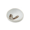 Porcelain Woodgrain Squirrel Dish