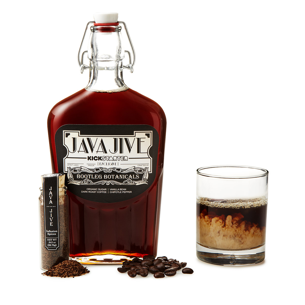COFFEE LIQUEUR MAKING KIT