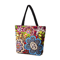 Hand Embroidered Peruvian Tote
