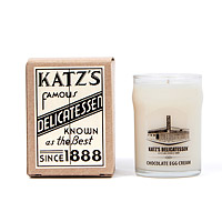 Katz's Chocolate Egg Cream Candle