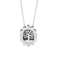 Tree of Life Shadowbox Necklace