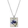 Seed Packet Pendant - Forget Me Not