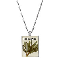 Seed Packet Pendant - Rosemary