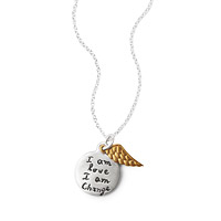 I am Love I am Change Necklace
