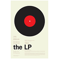 The LP Encyclopedic Print