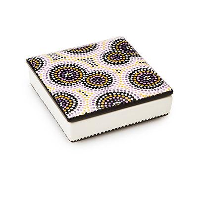 painted ceramic jewelry box jewelry box mosaic