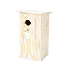 Wood Grain Birdhouse