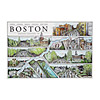 Boston Marathon Map