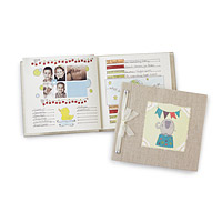 Cheerful Elephant Baby Memory Book