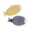 Crochet Fish Dish Scrubbers - Set of 2