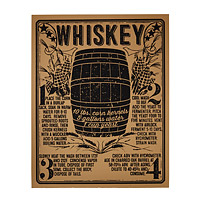 Whiskey Silkscreen Poster