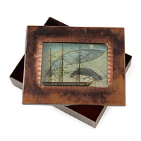 OUT TO SEA RELIQUARY BOX