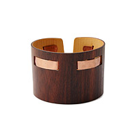 ROSEWOOD COPPER CUFF
