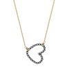 Dotted Heart Necklace
