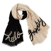 Hello/Goodbye Scarf