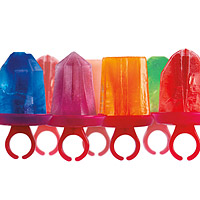 Ring Jewel Ice Pop Mold - Set of 6