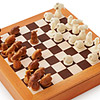 Carved Tagua Chess Set