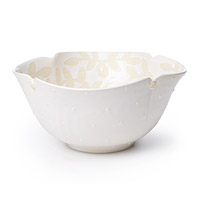 Flower Serving Bowl