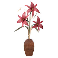Decorative Wood Lilies