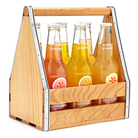 Wooden Serving Caddy