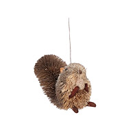 Buri Fiber Squirrel Ornament