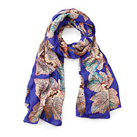 Impression Leaf Scarf
