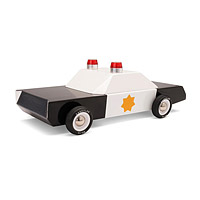 Classic Wooden Police Cruiser