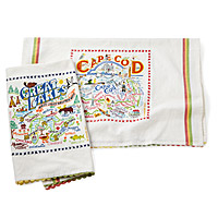 Coastal Dish Towels