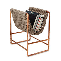 Recycled Rope Magazine Rack
