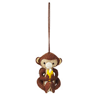 Mischievous Monkey Ornament