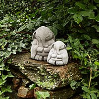 Zen Elephant Garden Sculpture