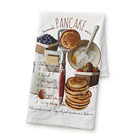 Homemade Pancake Mix Recipe Towel