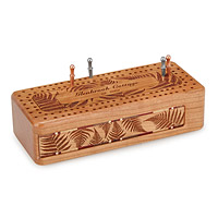 Custom Fern Cribbage Board
