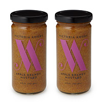 Apple Brandy Mustard - Set of 2