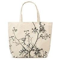 Cotton Hand Silk Screened Bag