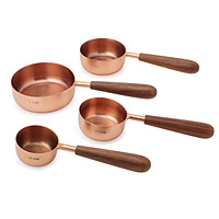 Measuring Cups with Wood Handles