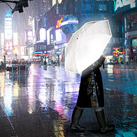 Hi Reflective Umbrella
