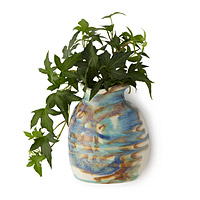 Tricolor Wall Pot