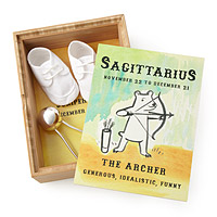 My Little Zodiac Personalized Keepsake Box