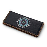 Celestial Embroidered Wallet