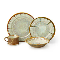 Oyster Porcelain Dishware Collection