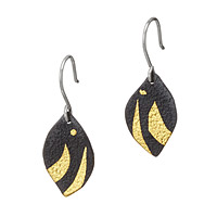 Golden Currents Earrings
