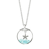 Glass Globe of Hope Necklace
