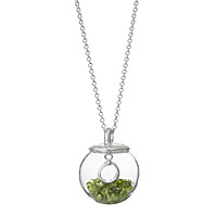 Glass Globe of Friendship Necklace